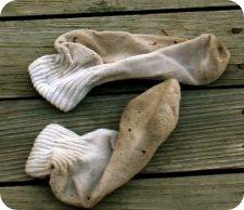 Avoid Stinky Socks! Photo Credit - www.j-walkblog.com