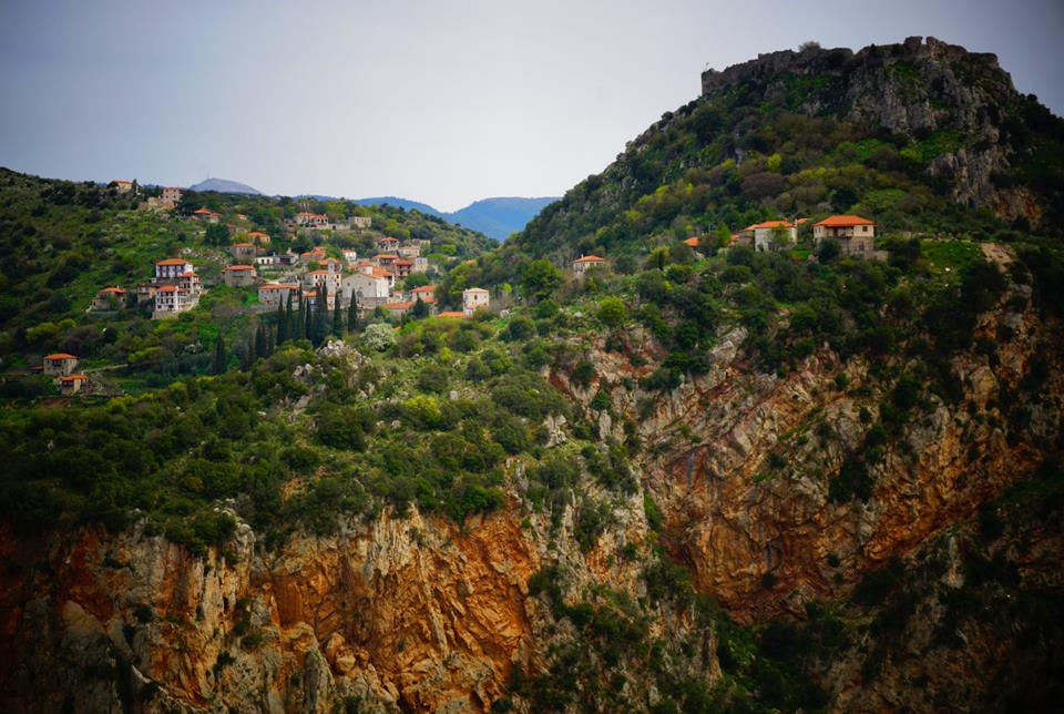 Established in the 13th century this sleepy little mountaintop village had a tumultuous history! It was once taken by the Byzantines and later resisted an Ottoman siege in 1826. Perched high on a cliff overlooking the gorge, it's as picturesque as one could imagine today.— in Karytaina.