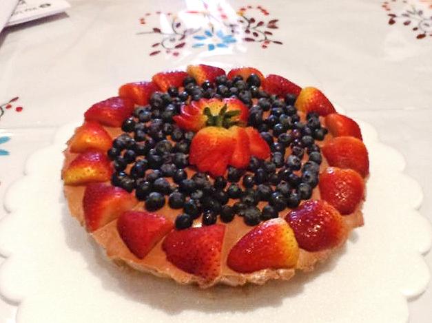 tarta de bayas