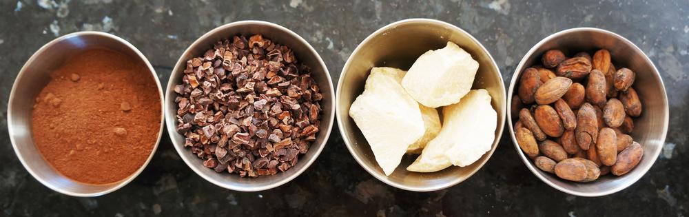 Cacao en Polvo - Cacao Nibs - Manteca de Cacao- Semillas de Cacao