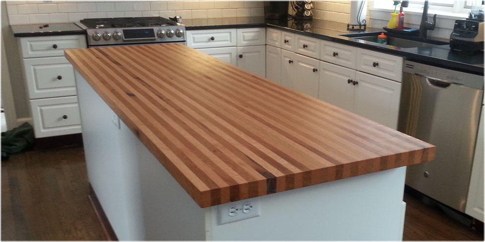 white red oak butcher block island top home depot countertop kitchen table