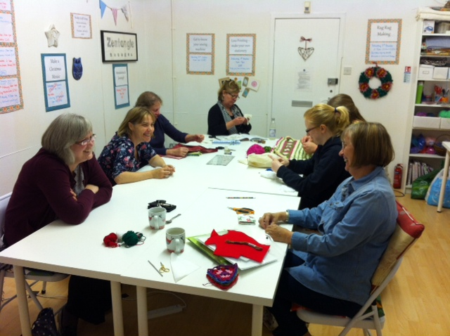 Weekly craft group