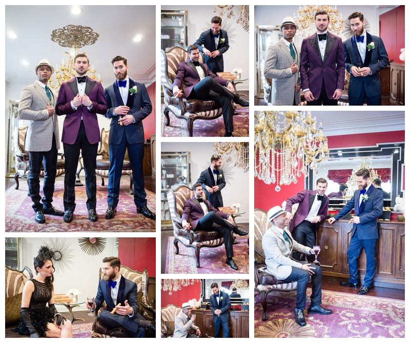 Nomee Photography-Great Gatsby-Hyde Park Mansion-Groomsmen