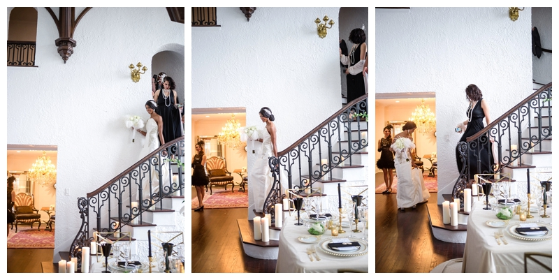 Nomee Photography-Great Gatsby-Hyde Park Mansion-BridewithMaid of Honot
