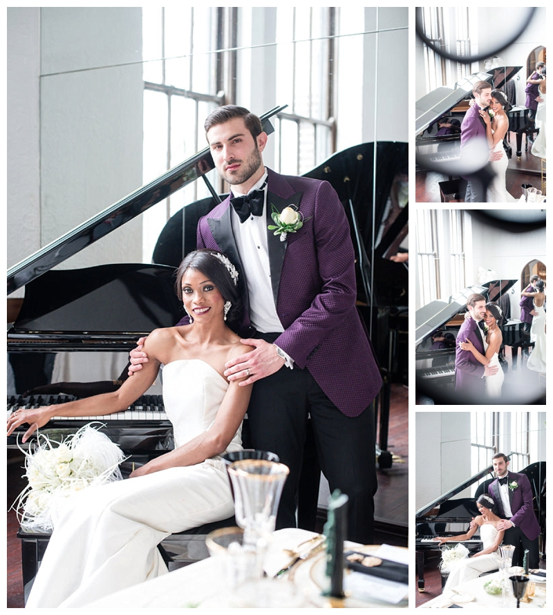 Nomee Photography-Great Gatsby-Hyde Park Mansion-Bride and Groom