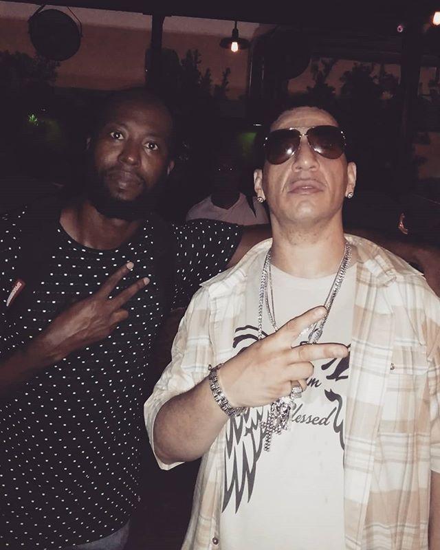 Quick snap with legendary @kidcapri101 right before my set 🙏 #ForTheCulture  #kidcapri #hiphop #dj #miami #wynwood