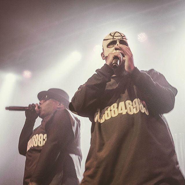 Tech N9ne and Krizz Kaliko killing it in Lawrence, Kansas. #strangemusic #techn9ne #kcmo #lfk #music