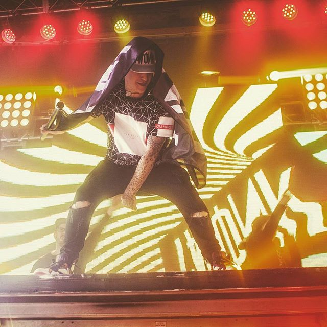 Brillz on the Twonk Di Nation tour! #twonkteam #twonk #trap #lfk