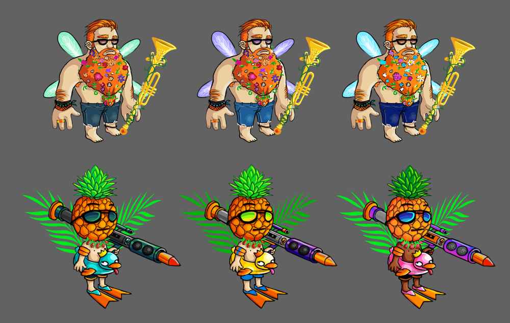 Summer Music Festival Character Concepts