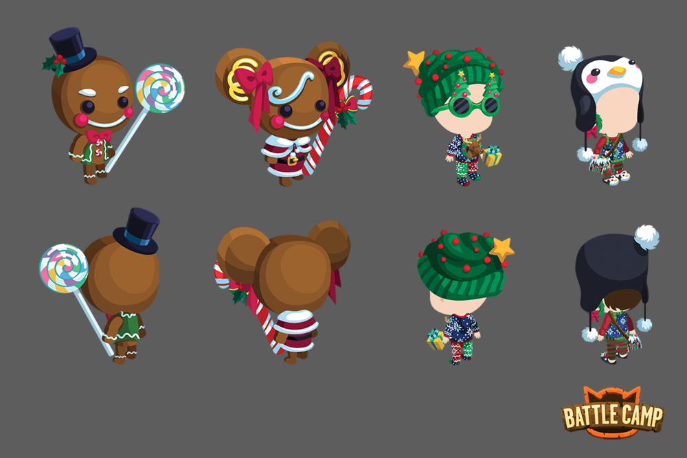 2016 Holiday Avatar Costumes