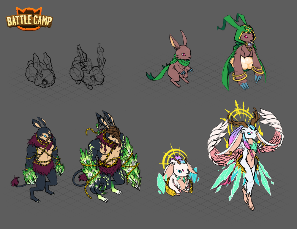 2017 Easter Monster Concepts