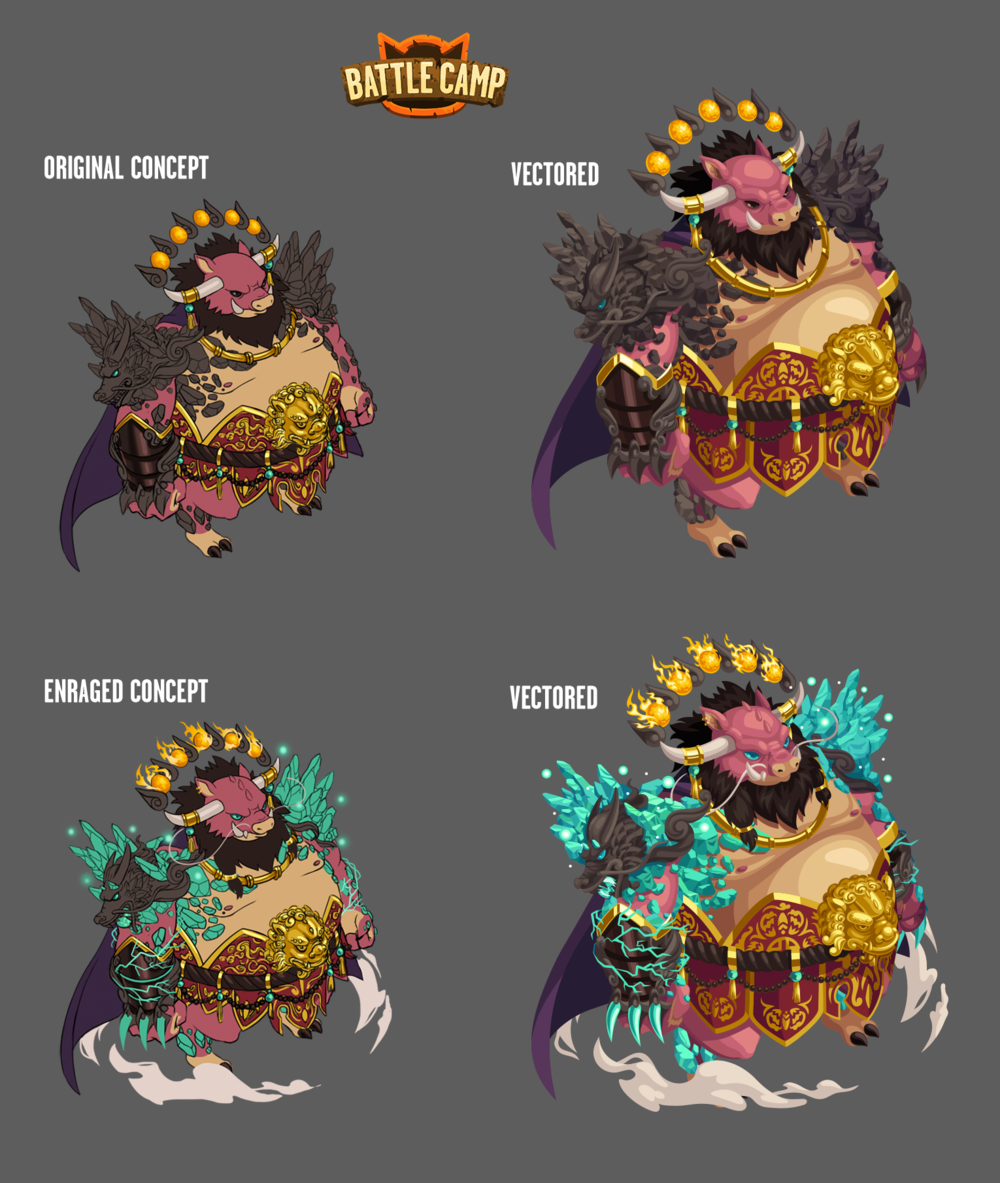 2019 Lunar New Year Boss Assets for Virtual World