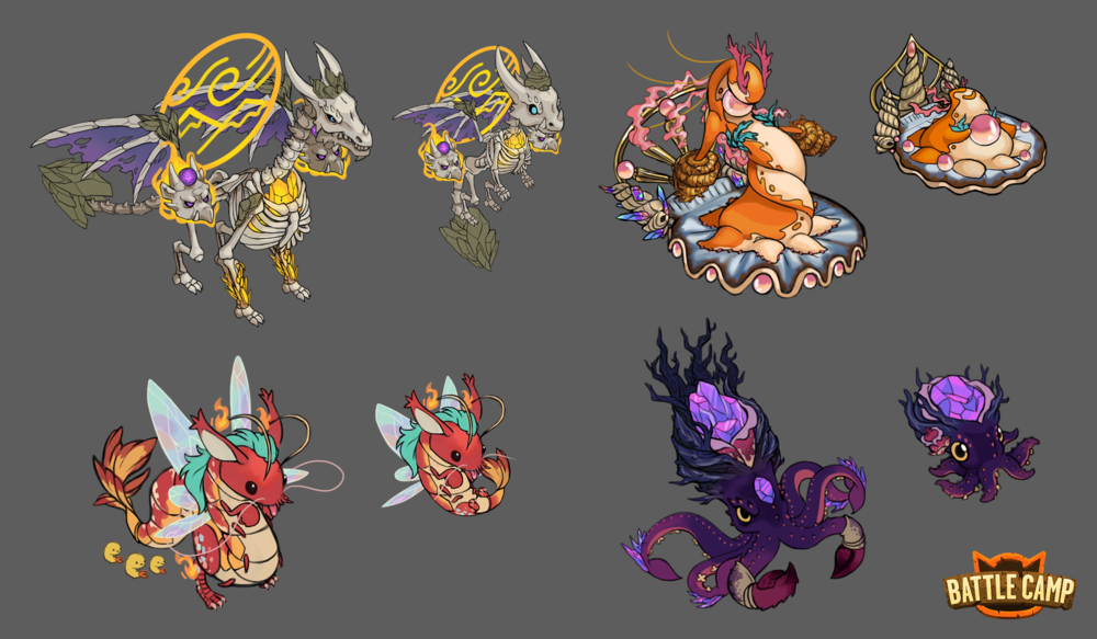 Various Monster Concepts