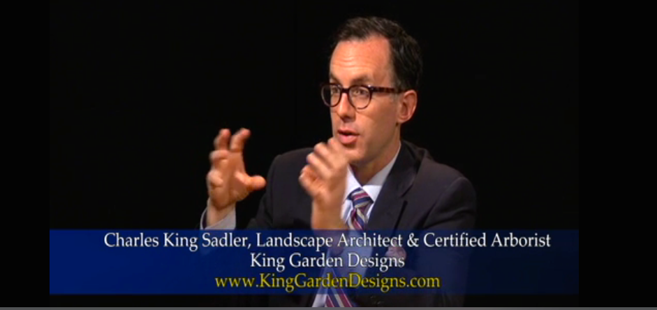 Charles_King_Sadler-Pleasantville Garden Club-TV Interview_Screenshot