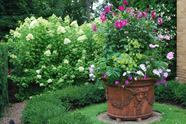 Planter Summer foliage and flowers large urn.jpg