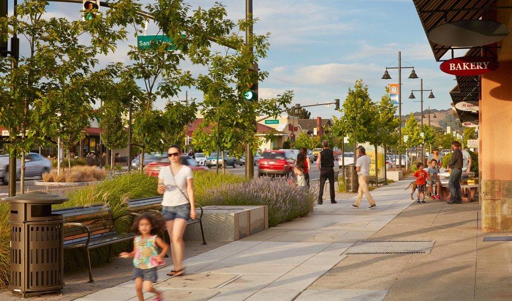 Street-scape_mother-child_lavender_street_trees.jpg