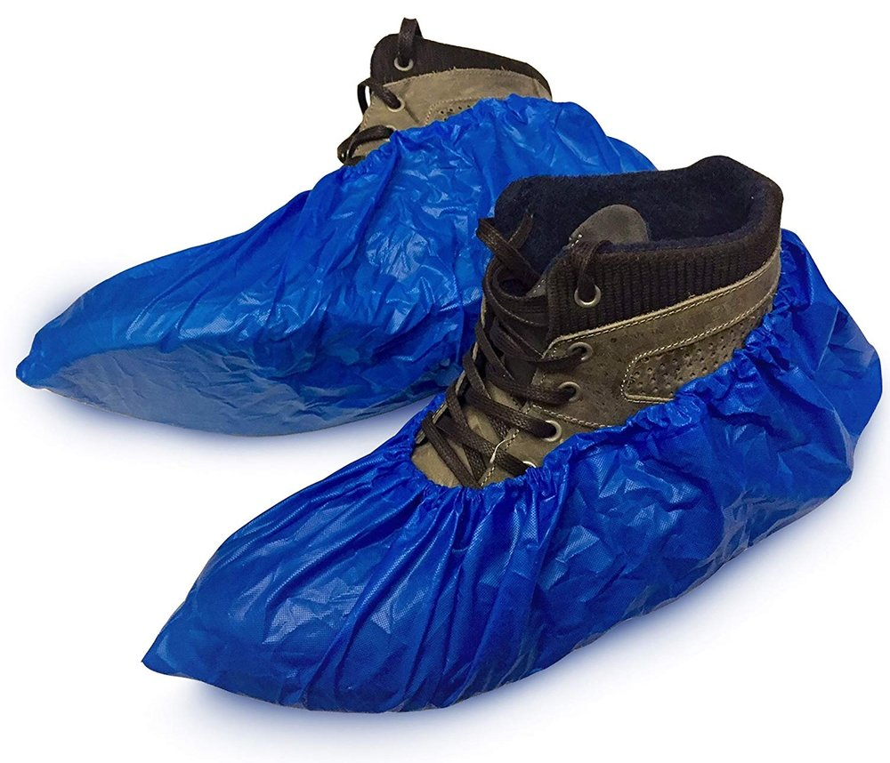 Single Use Bio-Security Shoe Covers For Workers and Garden Visitors