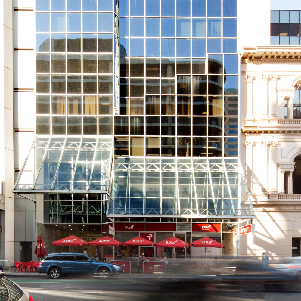 Conveniently located in the heart of the Adelaide CBD, great office space.