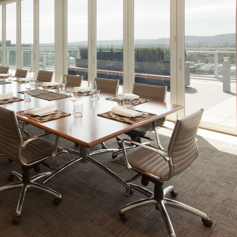 Access to great meeting rooms and board rooms and seminar facilities