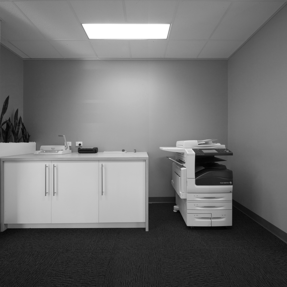 Ready access to technology, including photocopiers, printers