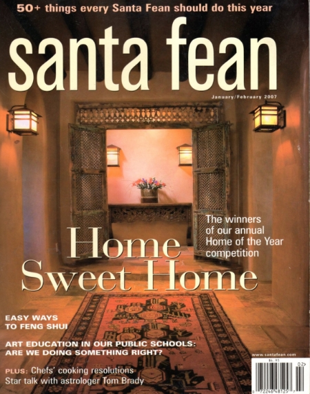 Santa Fean Jan/Feb 2007 Grand Award Winner -Marty Wilkinson