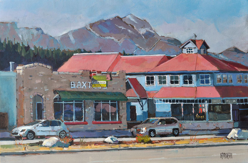 Baxters 12x18 Mountain Galleries, Jasper AB