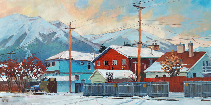 SOLD - October in Jasper 12x24 Mountain Galleries, Jasper AB