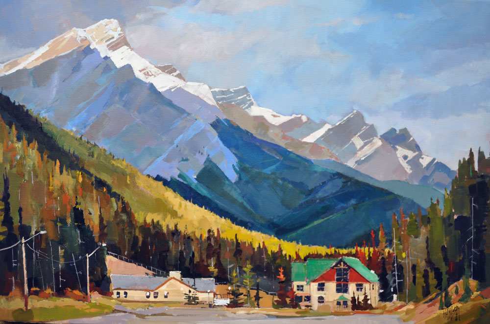 Norquay Entry 16 x 24
