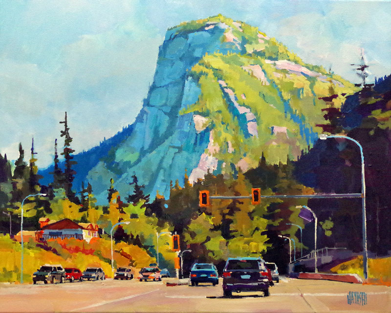 Entering Squamish 16x20
