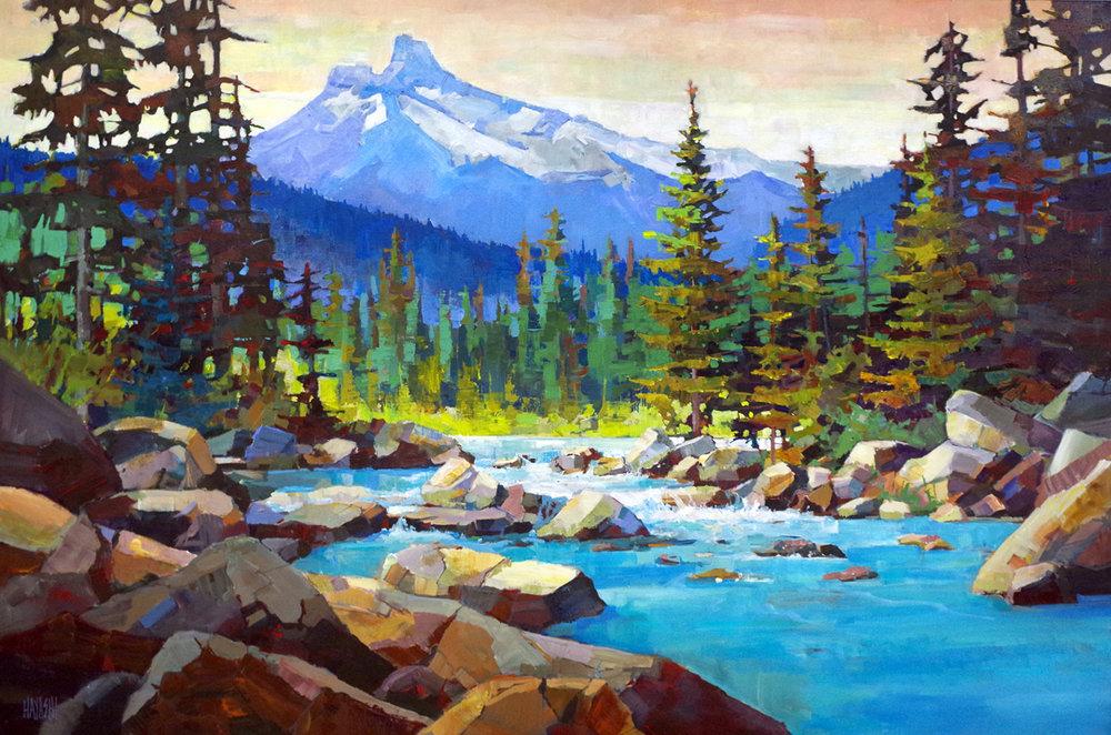 River Rocks 40x60