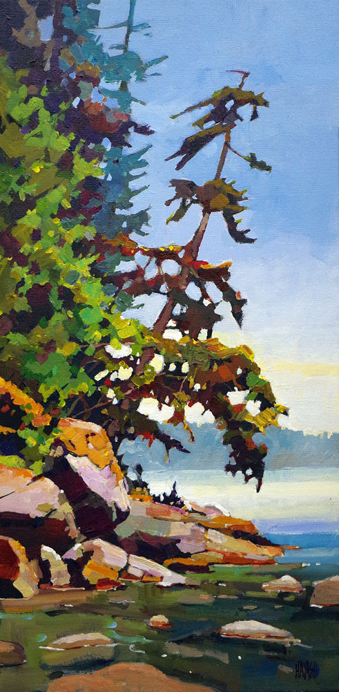 Leaning East 12x24