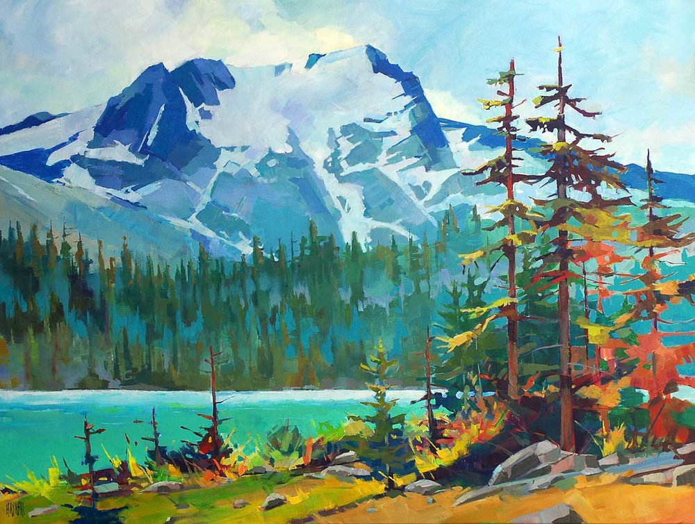 Joffre Middle Lake 36x48