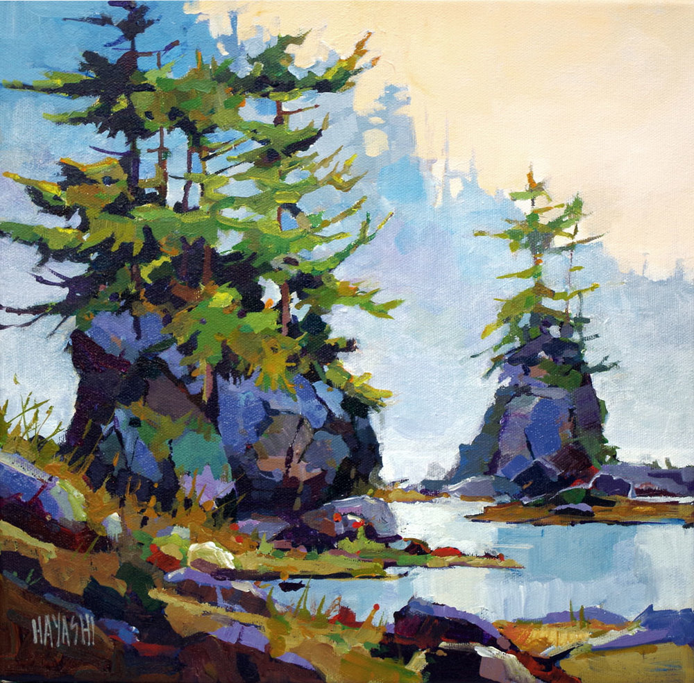 Rock Stacks 12 x 12