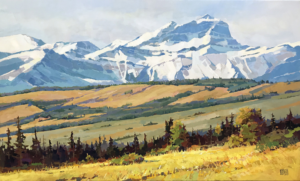 From the Foothills 24x40