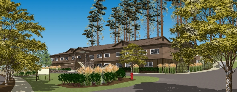 Mill View Village Rendering
