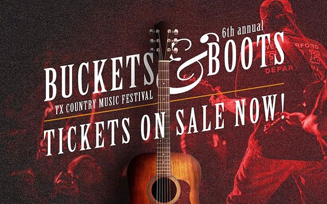 Don't forget to get to get your advanced general admissions tickets for $25! Tickets are on sale at bucketsandboots.com [Link in Bio]