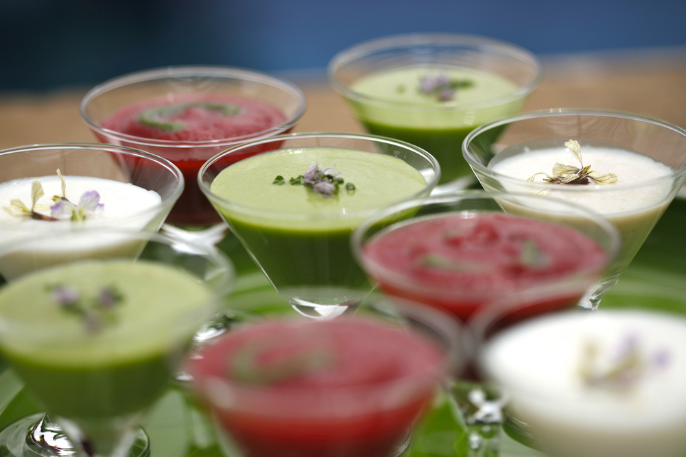 Chilled Soup Shooters