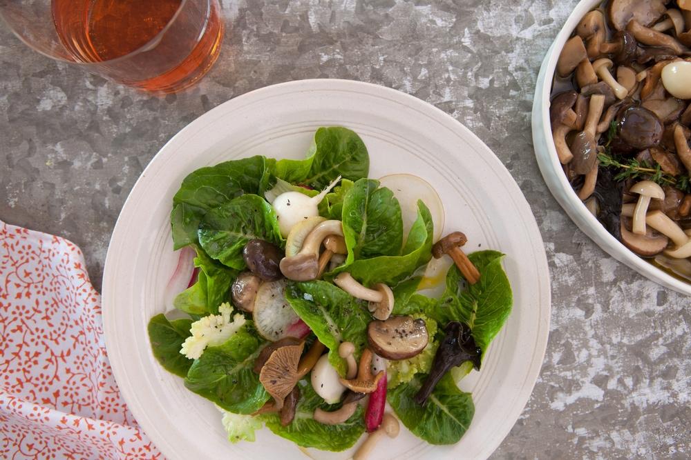 Mushroom Conserva Salad