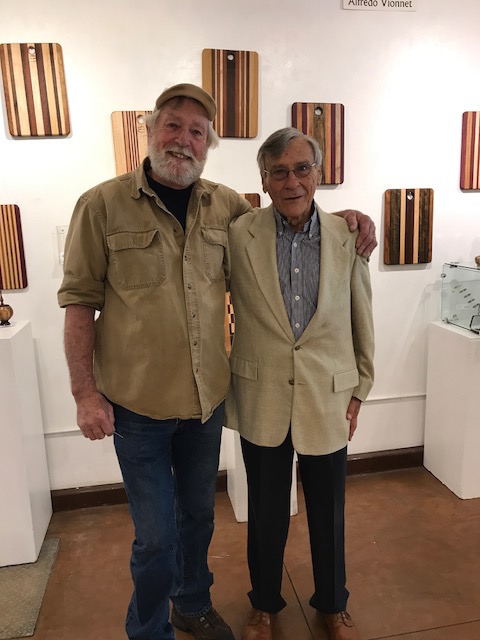 Our outstanding woodwork artists: Greg Burdick and Alfredo Vionnet