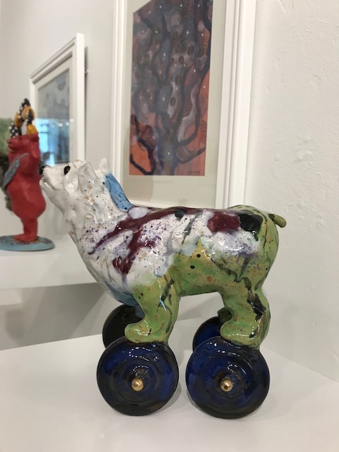 Artist:  Alexis Moyer @ Edgewater Gallery, Fort Bragg, CA                                       May, 2018