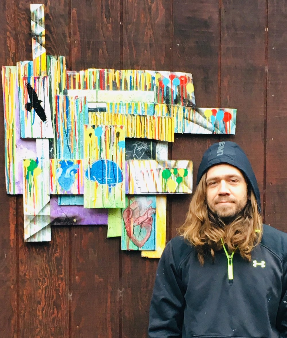 JOIN US for 1st Friday to view Ben's work and our other Edgewater Gallery artists  Edgewater Gallery, 356 North Main Street, Fort Bragg, from 5-8pm. Our gallery is open daily from 10am to 5pm (5:30 on Friday and Saturday).