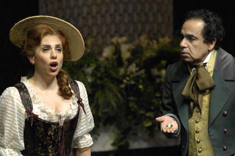 As Luisa in Torroba's   Luisa Fernanda  with Guillermo Silva-Marin.  Toronto Operetta Theatre.Photo: Gilberto Prioste