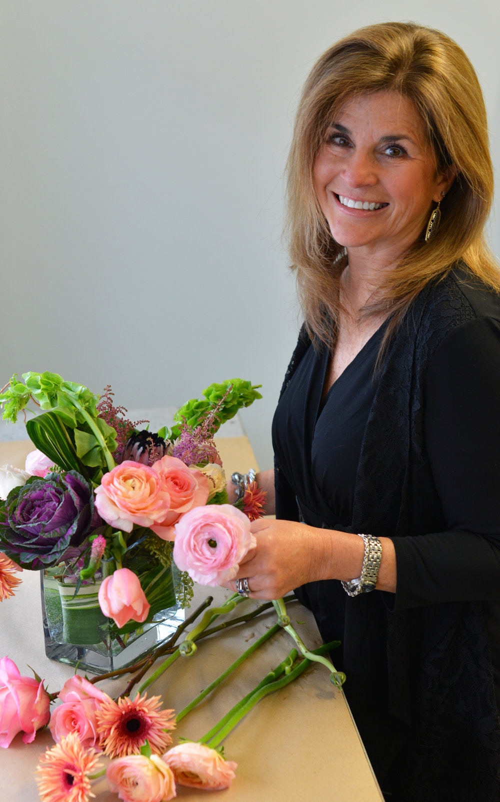 Carey Steger - Designer and LogisticsCarey is a Signal Mountain native and came to Bud 2 years ago. She is the backbone and right hand to Jamie's left hand. Her talent and love for flowers helps make Bud the caliber that would make Jamie's grandfather Bud proud!