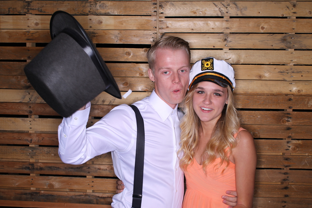 Alisha and Russ // At Jessica and Paul's Wedding // July, 2014
