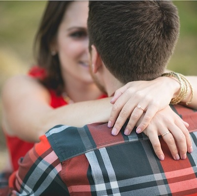 love seeing this happily engaged couple, danielle and brian   photo by hazy lane studios