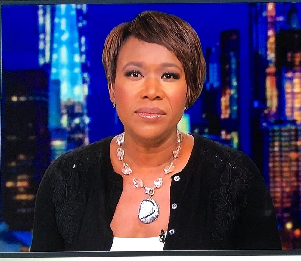 Joy Reid... - ...stylish on-air at MSNBC