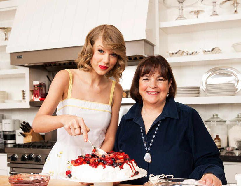 Taylor Swift & Ina Garten