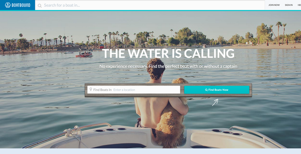 Boatbound.co - helps you find and rent a boat, similar to how Airbnb works. Role: helped re write and speed up their testing framework to ensure nothing goes broken on the front end.