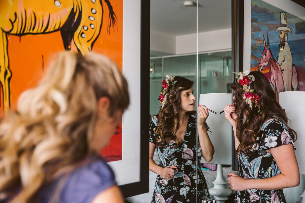 Lucie & Ed's fun and colourful St Kilda wedding by Fennel & Fox