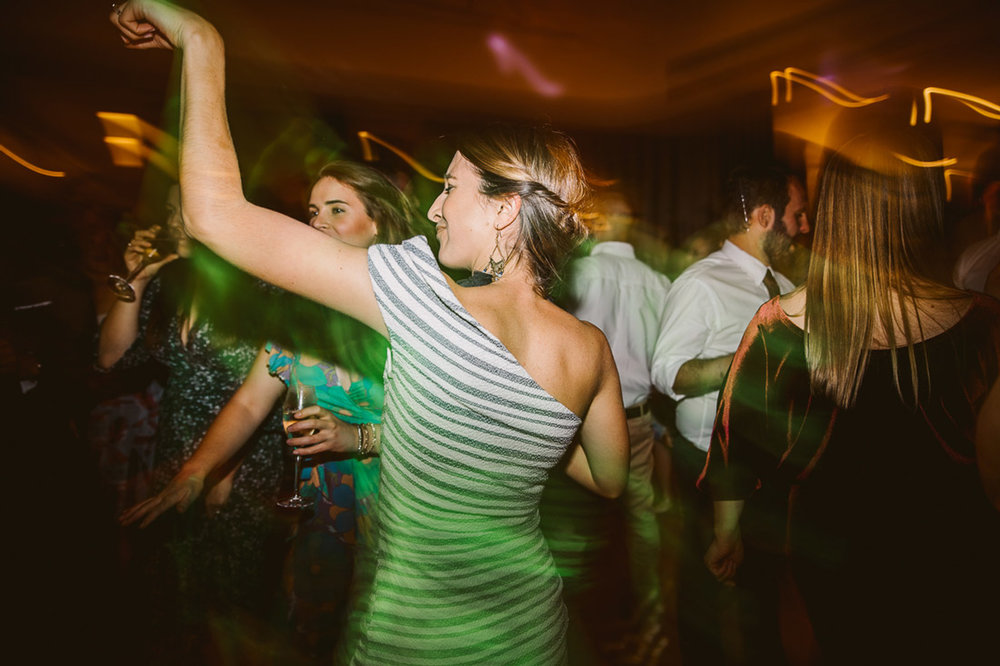Lucie & Ed's fun and colourful St Kilda Yacht Club wedding by Fennel & Fox.
